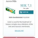 Acivir  Pills  (Acyclovir)
