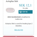Actoplus Met (Pioglitazone metformin)