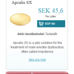 Apcalis SX (Tadalafil)