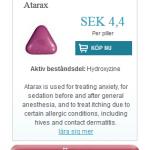 Atarax  (Hydroxyzine)