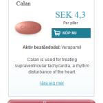 Calan (Verapamil)