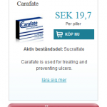 Carafate  (Sucralfate)