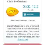 Cialis  Professional  (Tadalafil)