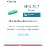 Cleocin  (Clindamycin)