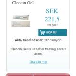 Cleocin Gel (Clindamycin)