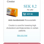 Crestor  (Rosuvastatin)