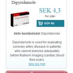 Dipyridamole  (Dipyridamole)