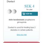 Duetact  (Pioglitazone  glimepiride)