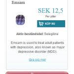 Emsam  (Selegiline)