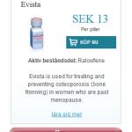 Evista  (Raloxifene)