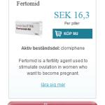 Fertomid  (Clomiphene)