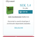 Glycomet (Metformin)