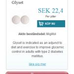 Glyset  (Miglitol)
