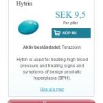 Hytrin  (Terazosin)
