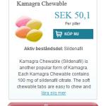 Kamagra  Chewable  (Sildenafil)