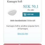 Kamagra  Soft  (Sildenafil)