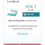 Levothroid  (Levothyroxine)