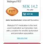 Malegra  FXT  (Sildenafil  fluoxetine)
