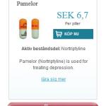 Pamelor  (Nortriptyline)
