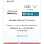 Plendil  (Felodipine)