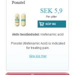 Ponstel  (Mefenamic  acid)