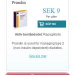 Prandin  (Repaglinide)