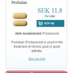 Probalan  (Probenecid)