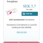 Serophene  (Serophene)