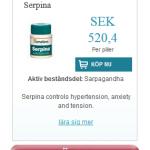 Serpina  (Sarpagandha)