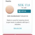 Starlix  (Nateglinide)