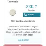 Tenormin (Atenolol)
