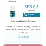 Vasotec  (Enalapril)