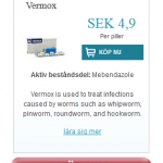 Vermox  (Mebendazole)