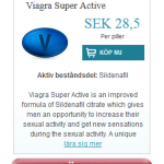 Viagra Super Active (Sildenafil)