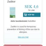 Zaditor  (Ketotifen)